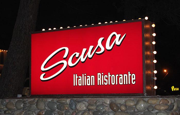 Scusa Italian Ristorante